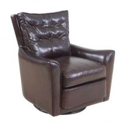 Nicolao Leather Swivel Chair