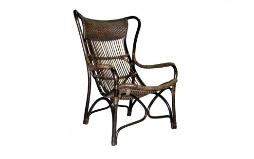 Cane Wing Chair