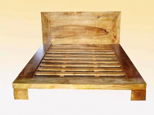 Fruitwood Bed