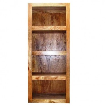 Fruitwood Bookcase with 3 Secret Drawers