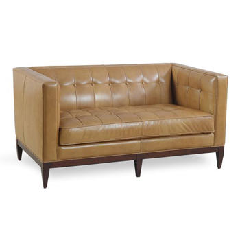 Medina Leather Loveseat