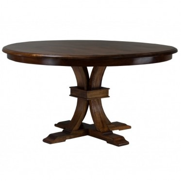 Florence Round Table – Distressed Teak
