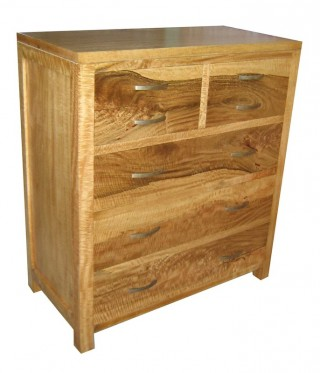 Fruitwood 7 drawers dresser