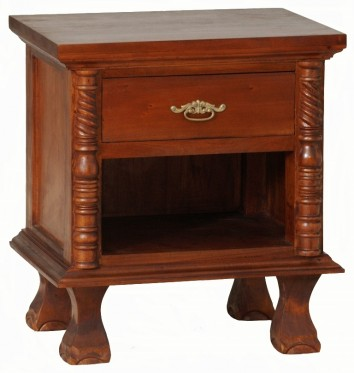 Java Bedside Table