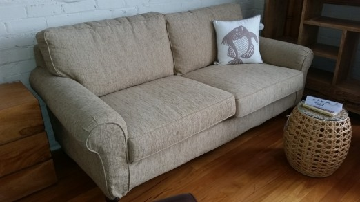 Reynolds Fabric Sofa (Slip Cover)