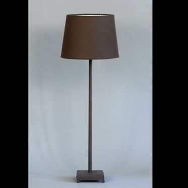 5796 Brown Metal Lamp