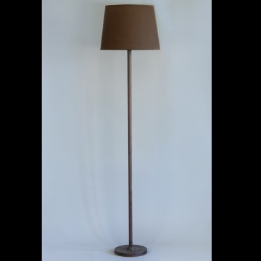 5798 Brown Metal Cut Down Floor Lamp