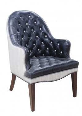 Tustin Chair – Leather HLS9701 and Fabric