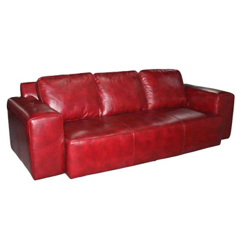 Eakins Leather Sofa