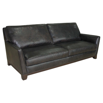 Hyde Park Leather Sofa