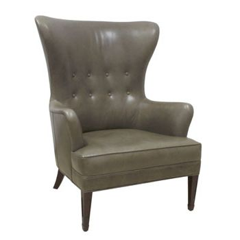 Sebastian Leather Wing Chair