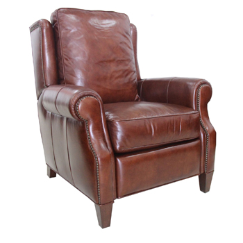 Borders Leather Recliner