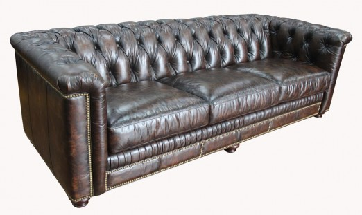 Cassini Leather Sofa