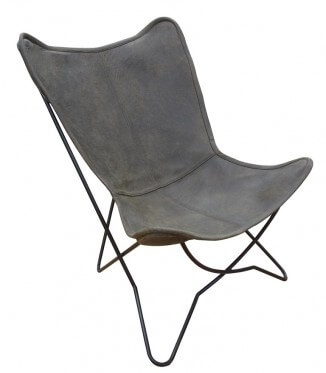 Sacha / Sling Leather Chair
