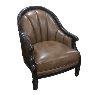 Drew Chair - Leather & Hair on Hide