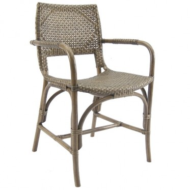 Austin Rattan Arm Chair